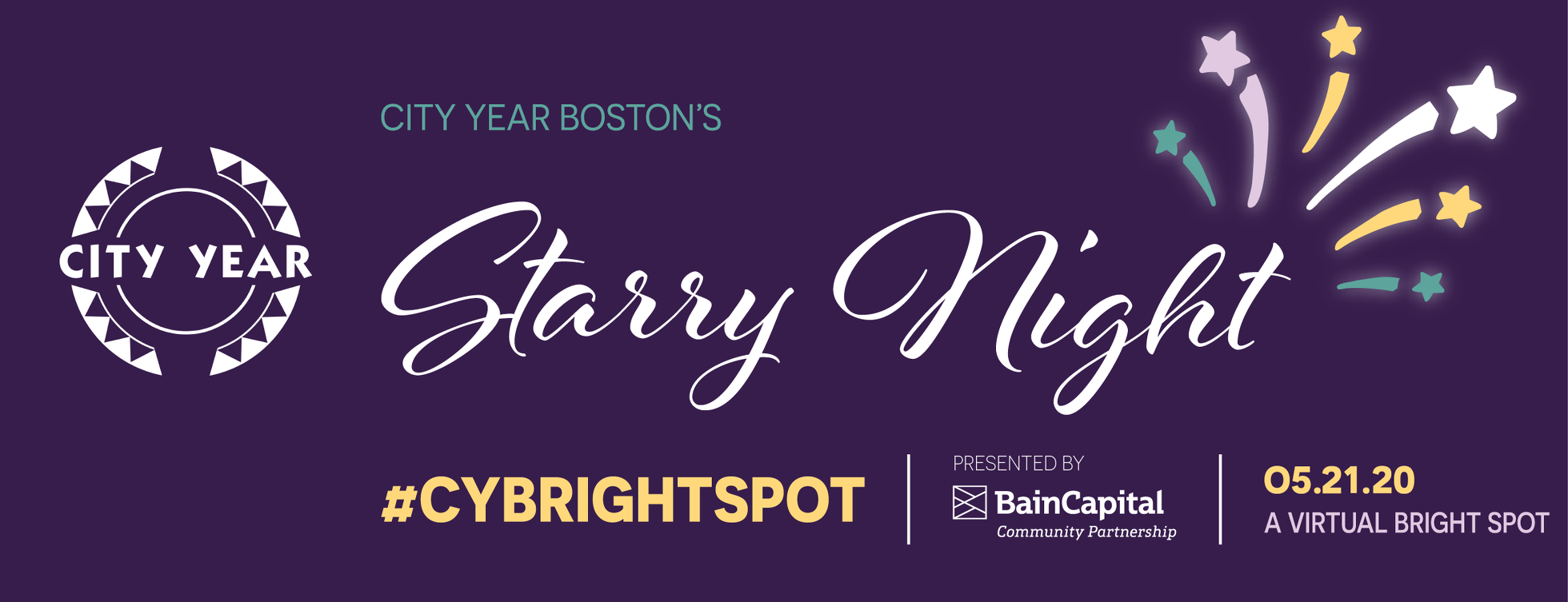 City Year Boston's Starry Night - A Virtual Bright Spot